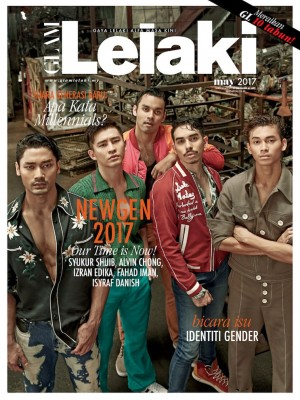 Glam Lelaki May 2017 by BLU INC MEDIA SDN BHD from BLU INC MEDIA SDN BHD in Magazine category