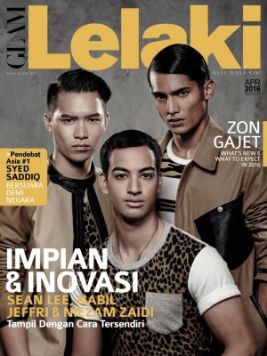 Glam Lelaki April 2016 by BLU INC MEDIA SDN BHD from BLU INC MEDIA SDN BHD in Magazine category