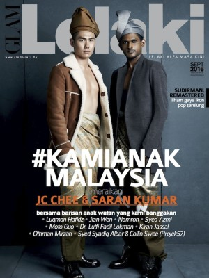 Glam Lelaki September 2016 by BLU INC MEDIA SDN BHD from  in  category