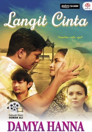 LANGIT CINTA by Damya Hanna from KARANGKRAF MALL SDN BHD in Romance category