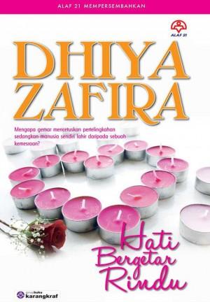 Hati Bergetar Rindu by Dhiya Zafira from KARANGKRAF MALL SDN BHD in Romance category