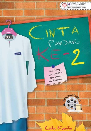 Cinta Pandang ke-2 by Laila Kamilia from KARANGKRAF MALL SDN BHD in General Novel category