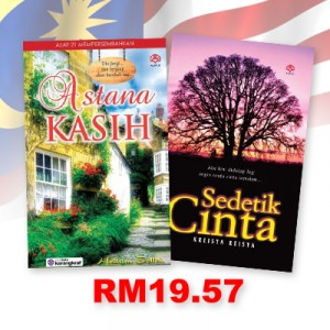 Astana Kasih, Sedetik Cinta by Hashim Salleh, Azilawati Mat Angsar from KARANGKRAF MALL SDN BHD in General Novel category