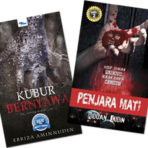 Kubur Bernyawa & Penjara Mati by Ebriza Aminnudin, Riduan Judin from KARANGKRAF MALL SDN BHD in True Crime category