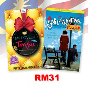 My Lovely Tengku, Satu-Satunya Cinta by Pitteriah Abdullah,Hafimi Huzin from KARANGKRAF MALL SDN BHD in General Novel category