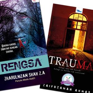 Trauma, Rengsa by Zaifuzaman Ahmad, Zharulnizam Shah Z.A from KARANGKRAF MALL SDN BHD in True Crime category