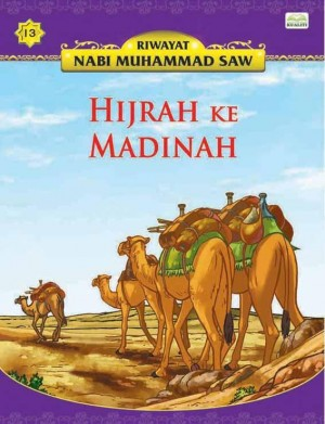 Hijrah Ke Madinah by Sulaiman Zakaria from Kualiti Books Sdn Bhd in Islam category