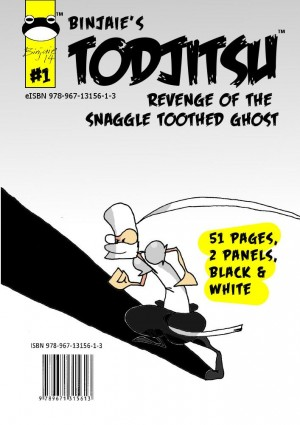 Toadjitsu Revenge of the snaggle toothed ghost by Binjaie from MOHAMAD BIN AYOB in Comics category
