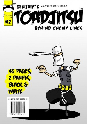 Toadjitsu Behind Enemy Lines by Binjaie from MOHAMAD BIN AYOB in Teen Novel category