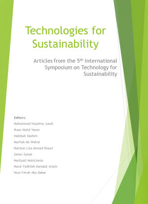 Technologies for Sustainability: Articles from the 5th International Symposium on Technology for Sustainability