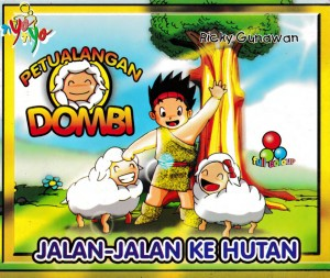 Seri Petualangan Dombi Jalan-Jalan Ke Hutan by Ricky Gunawan from Andi publisher in Children category