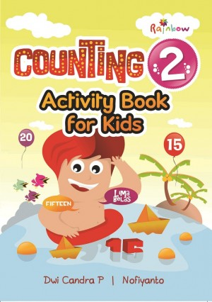 Counting 2 Activity Book For Kids
