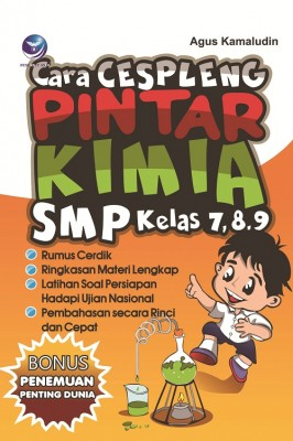 Cara Cespleng Pintar Kimia SMP Kelas 7,8,9 by Agus Kamaludin from Andi publisher in School Exercise category