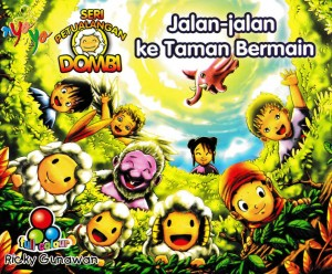 Seri Petualangan Dombi Jalan Jalan ke Taman Bermain by Ricky Gunawan from Andi publisher in Children category
