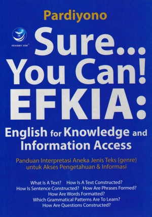 Sure... You Can EFKIA English For Knowledge And Information Access