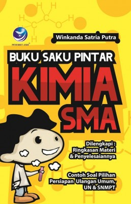 Buku Saku Pintar Kimia SMA by Winkanda Satria Putra from Andi publisher in School Exercise category