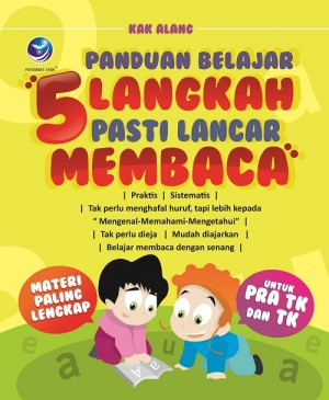 Panduan Belajar, 5 Langkah Pasti Lancar Membaca by Kak Alang from Andi publisher in School Exercise category