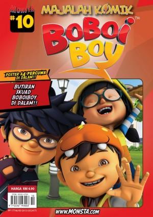 Majalah Komik BoBoiBoy Isu #10 by Animonsta Studios Sdn Bhd from Animonsta Studios Sdn Bhd in Comics category