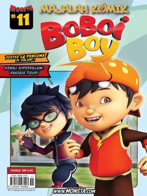 Majalah Komik BoBoiBoy Isu #11 by Animonsta Studios Sdn Bhd from Animonsta Studios Sdn Bhd in Comics category