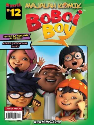 Majalah Komik BoBoiBoy Isu #12 by Animonsta Studios Sdn Bhd from Animonsta Studios Sdn Bhd in Comics category