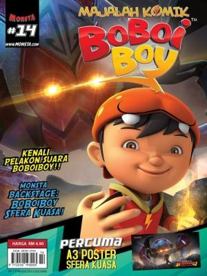 Majalah Komik BoBoiBoy Isu #14 by Animonsta Studios Sdn Bhd from  in  category