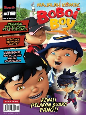 Majalah Komik BoBoiBoy Isu #18 by Animonsta Studios Sdn Bhd from Animonsta Studios Sdn Bhd in Comics category