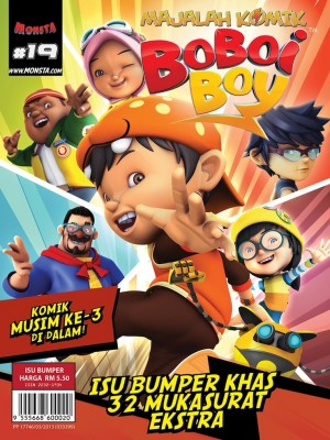 Majalah Komik BoBoiBoy Isu #19