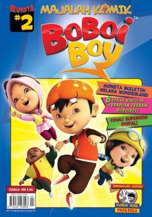 Majalah Komik BoBoiBoy Isu #2
