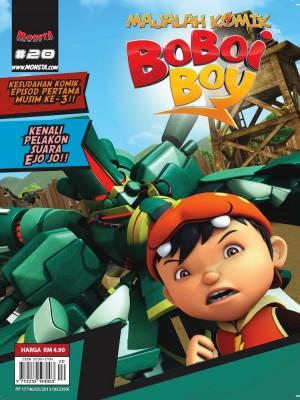 Majalah Komik BoBoiBoy Isu #20