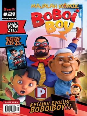 Majalah Komik BoBoiBoy Isu #21