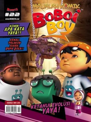 Majalah Komik BoBoiBoy Isu #22