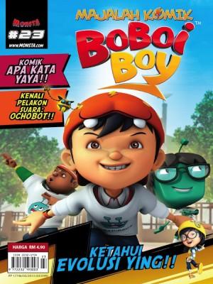 Majalah Komik BoBoiBoy Isu #23
