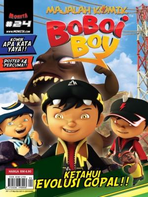Majalah Komik BoBoiBoy Isu #24