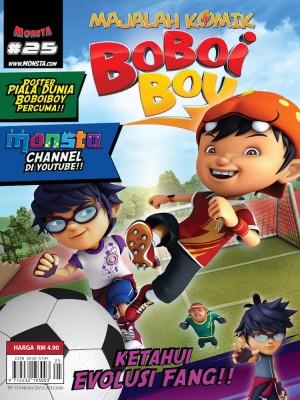 Majalah Komik BoBoiBoy Isu #25
