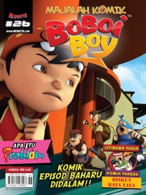 Majalah Komik BoBoiBoy Isu #26