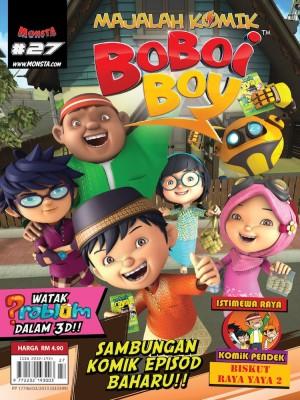 Majalah Komik BoBoiBoy Isu #27