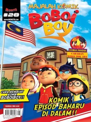Majalah Komik BoBoiBoy Isu #28