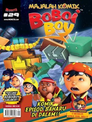 Majalah Komik BoBoiBoy Isu #29