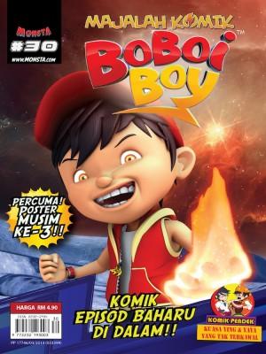 Majalah Komik BoBoiBoy Isu #30