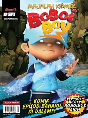 Majalah Komik BoBoiBoy Isu #31