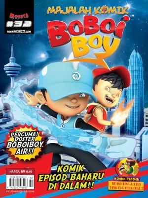 Majalah Komik BoBoiBoy Isu #32