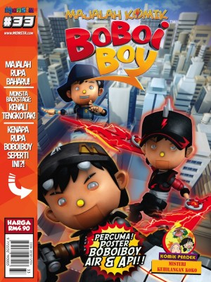 Majalah Komik BoBoiBoy Isu #33