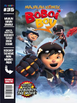 Majalah Komik BoBoiBoy Isu #35