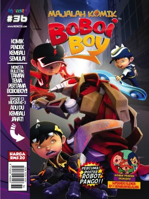 Majalah Komik BoBoiBoy Isu #36