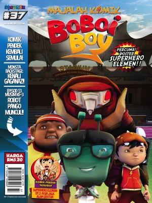 Majalah Komik BoBoiBoy Isu #37