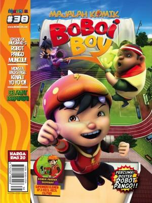 Majalah Komik BoBoiBoy Isu #38