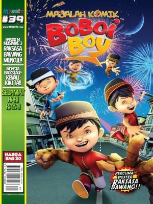 Majalah Komik BoBoiBoy Isu #39