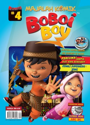 Majalah Komik BoBoiBoy Isu #4 by Animonsta Studios Sdn Bhd from  in  category