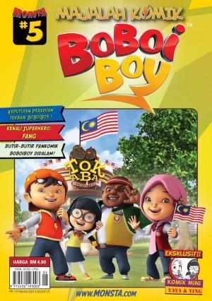 Majalah Komik BoBoiBoy Isu #5