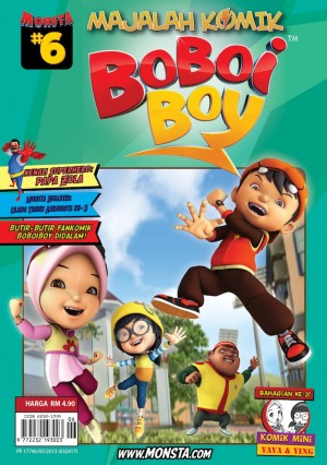 Majalah Komik BoBoiBoy Isu #6 by Animonsta Studios Sdn Bhd from Animonsta Studios Sdn Bhd in Comics category